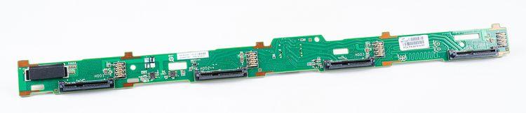 """HP 4x 3.5"""" SAS Festplatten / Hard Disk Backplane Board - ProLiant DL360e / DL360p G8 / Gen8 - 667869-001 – Bild 1"""