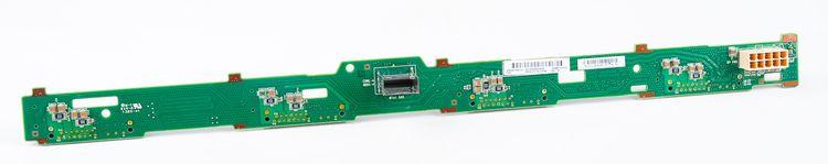 """HP 4x 3.5"""" SAS Festplatten / Hard Disk Backplane Board - ProLiant DL360e / DL360p G8 / Gen8 - 667869-001 – Bild 2"""