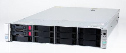 HPE ProLiant DL380 Gen9 V3 Server 2x Xeon E5-2630v3 8-Core 2.40 GHz, 16 GB DDR4 RAM, 2x 1000 GB SAS 7.2K