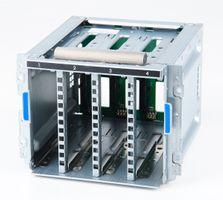 HP 4x LFF Hot Plug Drive Cage mit SAS-Backplane - ProLiant ML310e / ML350e Gen8 V2 , ML30 Gen9 - 686745-002 / 822755-001