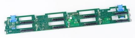 "DELL 8x 3.5"" SAS / SATA Festplatten / Hard Disk Backplane Board - PowerEdge R720 - 0RVVMP / RVVMP"
