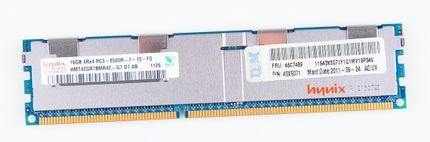 IBM 16GB 4Rx4 PC3-8500R DDR3 Registered Server-RAM Modul REG ECC - 46C7489