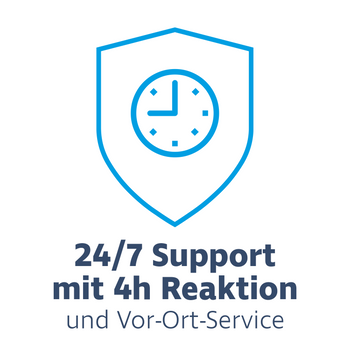 Hardware Care Pack for HP ProLiant DL360e / DL360p Gen8 - 3 years with 24/7 support, 4h reaction time & on-site service – Bild 1