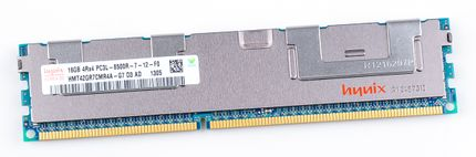 hynix 16GB 4Rx4 PC3L-8500R DDR3 Registered Server-RAM Modul REG ECC - HMT42GR7CMR4A-G7