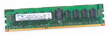 Samsung 4GB 1Rx4 PC3-10600R DDR3 Registered Server-RAM Modul REG ECC - M393B5270CH0-CH9Q5
