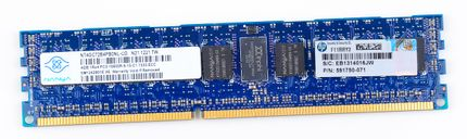 HP 4GB 1Rx4 PC3-10600R DDR3 Registered Server-RAM Modul REG ECC - 591750-071