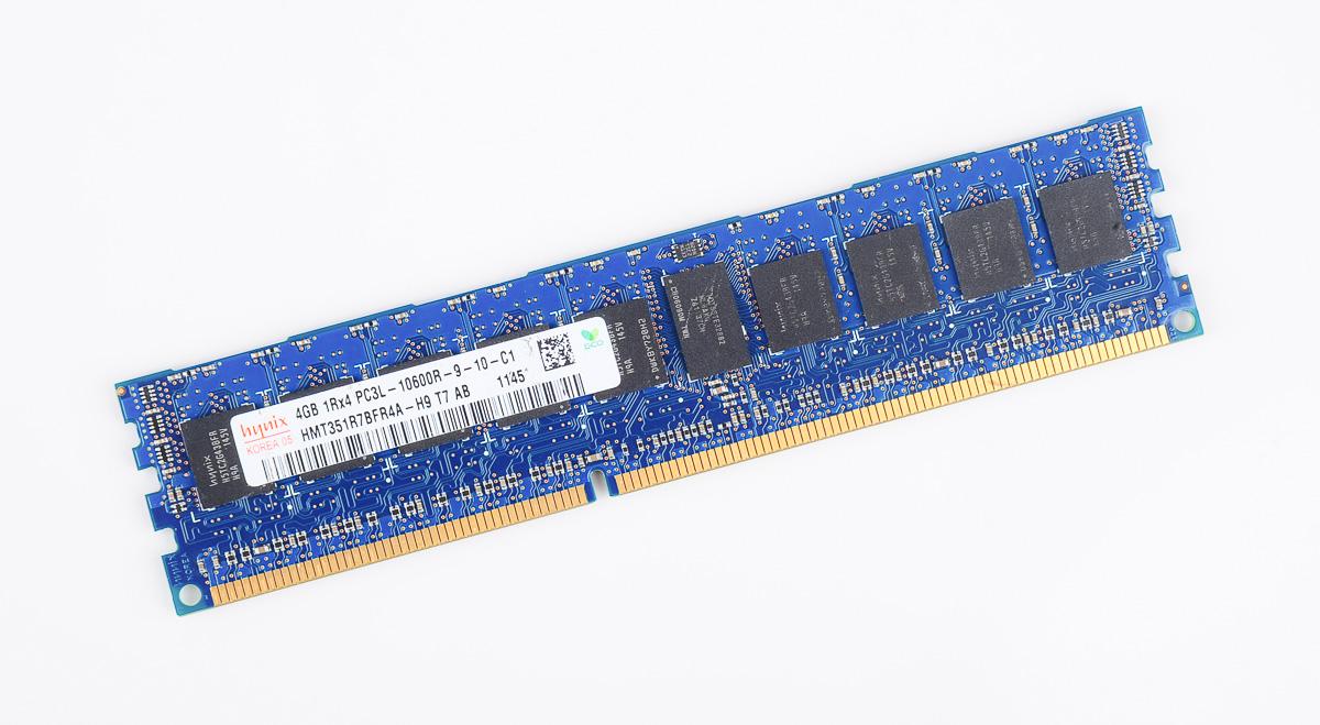 Hynix 4GB 2Rx8 PC3L-10600R DDR3-1333 ECC REG Server Memory RAM HMT351R7BFR8A-H9