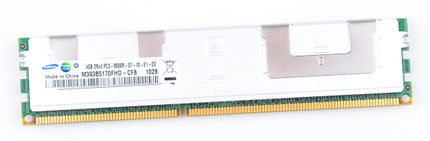 Samsung 4GB 2Rx4 PC3-8500R DDR3 Registered Server-RAM Modul REG ECC - M393B5170FHD-CF8