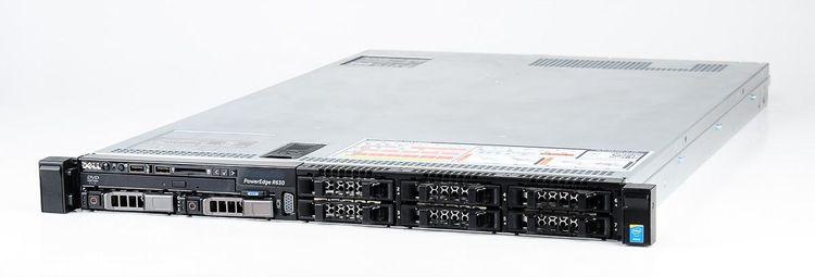 DELL PowerEdge R630 Server 2x Xeon E5-2620v4 8-Core 2.10 GHz, 16 GB DDR4 RAM, 2x 300 GB SAS 10K – Bild 1