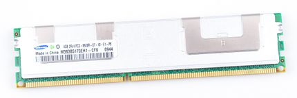 Samsung 4GB 2Rx4 PC3-8500R DDR3 Registered Server-RAM Modul REG ECC - M393B5170EH1-CF8