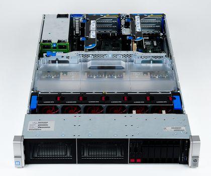 HPE ProLiant DL560 Gen9 Server 2x Xeon E5-4620v3 10-Core 2.0 GHz, 16 GB DDR4 RAM, 2x 300 GB SAS 10K – Bild 7