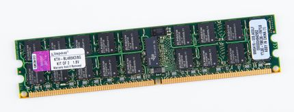 Kingston 4GB 2Rx4 PC2-6400R DDR2 Registered Server-RAM Modul REG ECC - KTH-BL495K2/8G