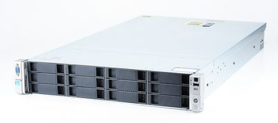HP ProLiant DL380e Gen8 Server 2x Xeon E5-2430L Six Core 2.0 GHz, 16 GB DDR3 RAM, 2x 1000 GB SAS 7.2K