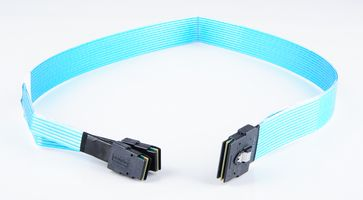 Amphenol SAS-Kabel / Cable - double-wide SFF-8087 connector to 2x single SFF-8087, 75cm - RMS68-0515