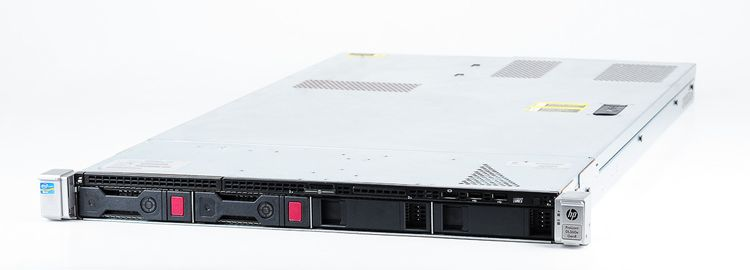 HP ProLiant DL360e Gen8 Server 2x Xeon E5-2430v2 Six Core 2.50 GHz, 16 GB DDR3 RAM, 2x 1000 GB SAS 7.2K – Bild 1