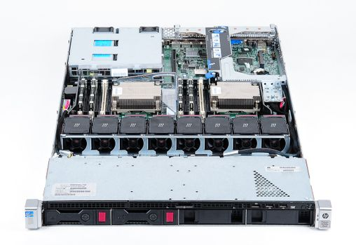 HP ProLiant DL360e Gen8 Server 2x Xeon E5-2430v2 Six Core 2.50 GHz, 16 GB DDR3 RAM, 2x 1000 GB SAS 7.2K – Bild 5