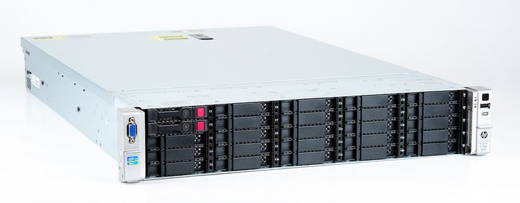 HP ProLiant DL380p Gen8 Storage Server 2x Xeon E5-2680 8-Core 2.70 GHz, 16 GB DDR3 RAM, 2x 300 GB SAS 10K – Bild 3