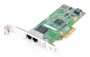 HP 361T Dual Port Gigabit Server Adapter / Netzwerkkarte PCI-E - 656241-001