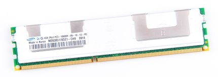 Samsung 4GB 2Rx4 PC3-10600R DDR3 Registered Server-RAM Modul REG ECC - M393B5170DZ1-CH9