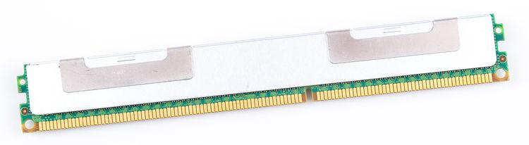 IBM 8GB 4Rx8 PC3-8500R DDR3 Registered Server-RAM VLP Modul REG ECC - 46C7504 – Bild 2
