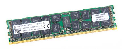 Kingston 16GB 2Rx4 PC3-12800R DDR3 Registered Server-RAM Modul REG ECC - SL16D316R11D4HA