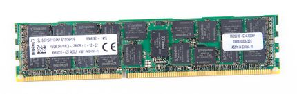 Kingston 16GB 2Rx4 PC3-12800R DDR3 Registered Server-RAM Modul REG ECC - SL16D316R11D4KF