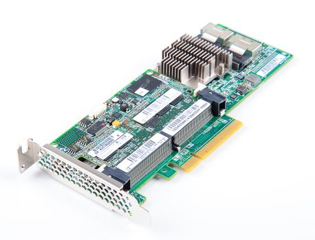 HP Smart Array P420 RAID-Controller 6G SAS with 2 GB FBWC Cache - 633538-001 / 633543-001 - low profile – Bild 1