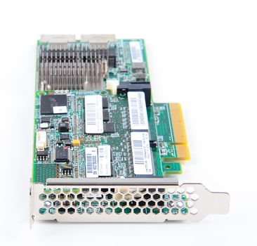 HP Smart Array P420 RAID-Controller 6G SAS with 2 GB FBWC Cache - 633538-001 / 633543-001 - low profile – Bild 3
