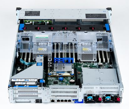 HPE ProLiant DL380 Gen10 Server 2x Xeon Silver 4110 8-Core 2.10 GHz, 16 GB DDR4 RAM, 2x 300 GB SAS 10K – Bild 8