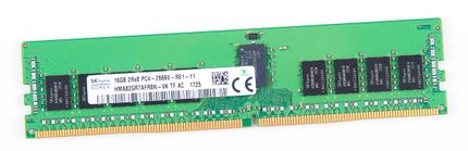 HPE 16GB 2Rx8 PC4-2666V-R / PC4-21300R DDR4 Registered Server-RAM Modul REG ECC - 868846-001 / 840756-091