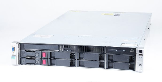HP ProLiant DL380p Gen8 Server 2x Xeon E5-2680v2 10-Core 2.80 GHz, 16 GB DDR3 RAM, 2x 1000 GB SAS 7.2K – Bild 1