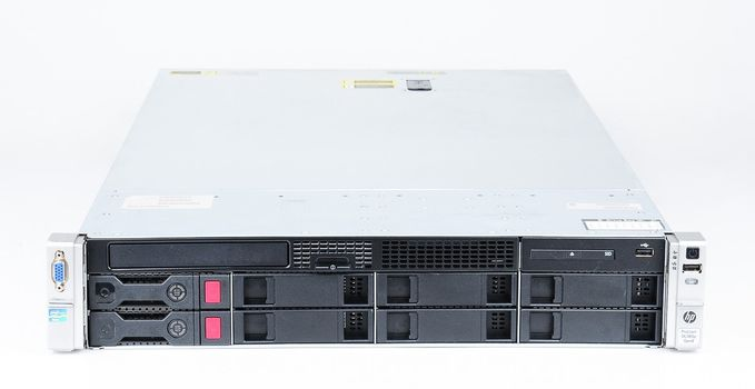 HP ProLiant DL380p Gen8 Server 2x Xeon E5-2680v2 10-Core 2.80 GHz, 16 GB DDR3 RAM, 2x 1000 GB SAS 7.2K – Bild 3