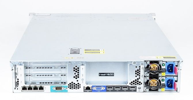 HP ProLiant DL380p Gen8 Server 2x Xeon E5-2680v2 10-Core 2.80 GHz, 16 GB DDR3 RAM, 2x 1000 GB SAS 7.2K – Bild 4