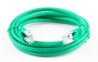 Cat.7 Patchkabel / Netzwerkkabel / Network Cable - RJ45, Cat.6a Stecker / Connector - 2m - green