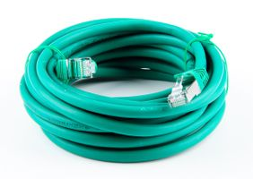 Cat.7 Patchkabel / Netzwerkkabel / Network Cable - RJ45, Cat.6a Stecker / Connector - 5m - Grün