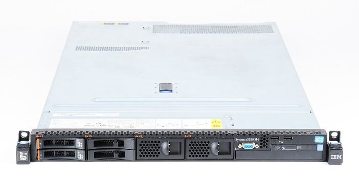 IBM System x3550 M4 Server 2x Xeon E5-2660 8-Core 2.20 GHz, 16 GB DDR3 RAM, 2x 300 GB SAS 10K – Bild 1