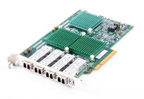 Emulex LPE11004 Quad Port 8 Gbit/s Fibre Channel Host Bus Adapter / FC HBA, PCI-E