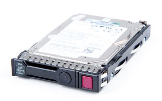 "HPE 300 GB 6G 10K SAS 2.5"" Hot Swap Festplatte / Hard Disk mit Smart Carrier - 653955-001 / 652564R-B21"