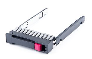 "HP 2.5"" SFF SAS / SATA Hot Swap Festplatten-Rahmen / Disk Tray for G5 / G6 / G7 Server - 500223-001"
