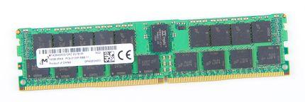 Micron 16GB 2Rx4 PC4-2133P-R / PC4-17000R DDR4 Registered Server-RAM Modul REG ECC - MTA36ASF2G72PZ-2G1B1RI