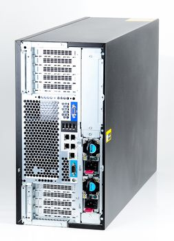 HP ProLiant ML350p Gen8 Server 2x Xeon E5-2690 8-Core 2.90 GHz, 16 GB DDR3 RAM, 2x 300 GB SAS 10K - Tower – Bild 4