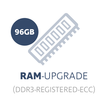 RAM-upgrade to 96 GB DDR3 Registered ECC (24x 4 GB memory module) – Bild 1