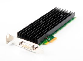 Fujitsu Quadro NVS290 Graphic Card / Grafikkarte - 256 MB DDR2, PCIe x1 - S26361-D1473-V333 - low profile