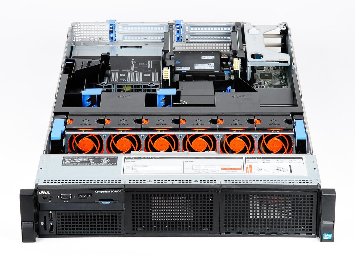 Dell Compellent Sc8000 Storage Center Controller 2x Xeon