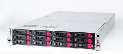HPE  Apollo 4200 Gen9 Storage Server with 2x Xeon E5-2650v4 12-Core 2.20 GHz, 256 GB DDR4 RAM, 224 TB SAS 12G