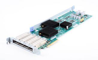 NetApp Quad Port 6G SAS Host Bus Adapter / HBA - 111-00625+B1