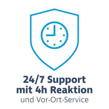 Hardware Care Pack für HPE ProLiant BL460c Gen9 Server - 2 Jahre mit 24/7 Support mit 4h Reaktionszeit & Vor-Ort-Service – Bild 1