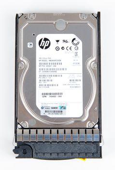 "HP 4TB / 4000 GB 6G 7.2K SAS 3.5"" Hot Swap Festplatte / Hard Disk - 743405-001 – Bild 6"
