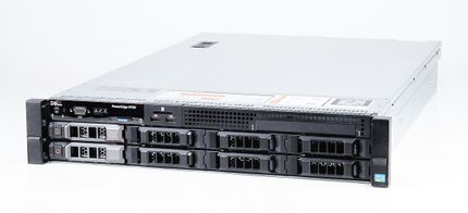 DELL PowerEdge R720 Server 2x Xeon E5-2690v2 10-Core 3.00 GHz, 16 GB DDR3 RAM, 2x 1000 GB SAS 7.2K