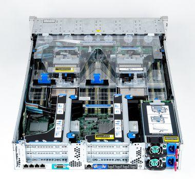 HP ProLiant DL560 Gen8 Server 4x Xeon E5-4650 8-Core 2.70 GHz, 16 GB DDR3 RAM, 2x 300 GB SAS 10K – Bild 8